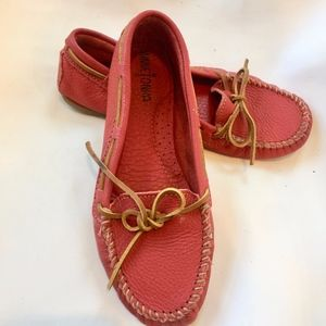Minnetonka Red Boat Moccasin Driving Shoe Loafer